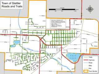 Stettler Walking Trail System